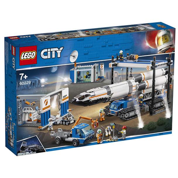 LEGO® City 60229 Rocket Assembly & Transport