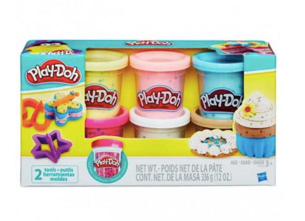 Hasbro Play-Doh Confetti Compound Collection - 6 Colours