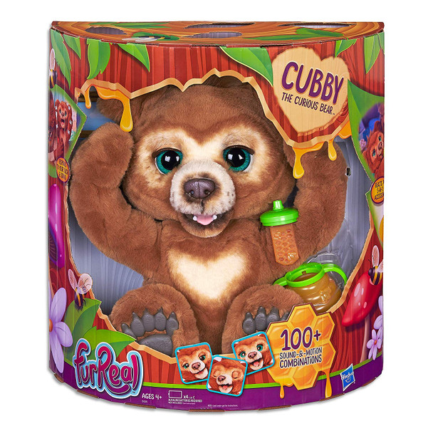FurReal Friends Cubby the Curious Bear Interactive Plush