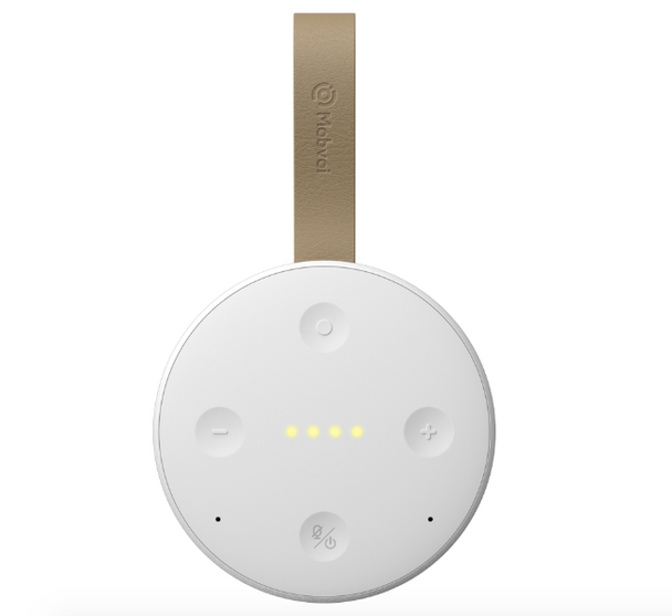 Mobvoi TicHome Mini Water Resistant Smart Speaker with Google Assistant - White