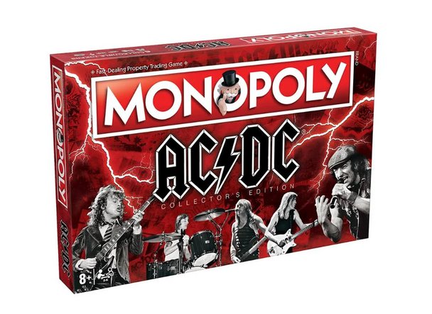 AC-DC Monopoly Collector's Edition Board Game