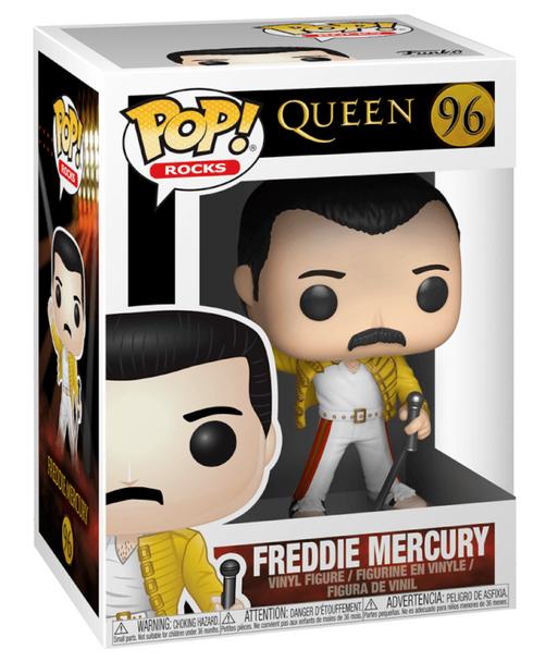 Queen Freddie Mercury Wembley 1986 Funko Pop! Vinyl #96