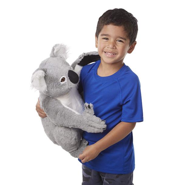 Melissa and Doug Large Lifelike Plush Koala - 40cm
