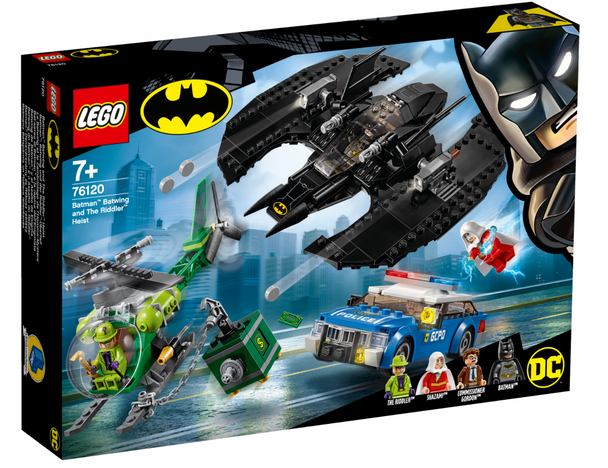 LEGO® DC Super Heroes 76120 Batman Batwing and The Riddler Heist