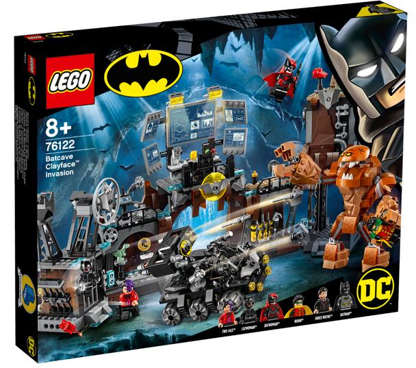 LEGO® DC Super Heroes 76122 Batcave Clayface Invasion