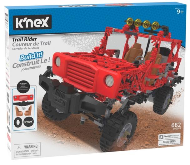 K'Nex Trail Rider Building Set - 682 Pieces