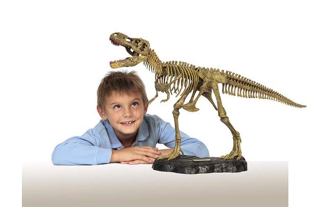 Dr Steve HUNTERS T-Rex Full Skeleton Model Kit - 76cm