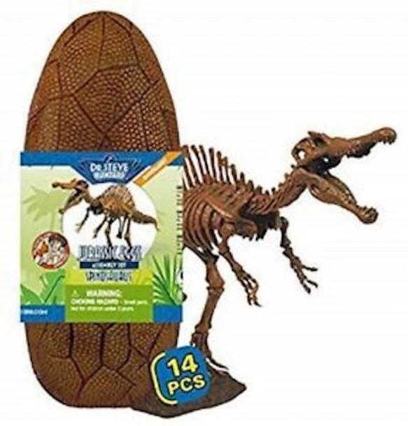 Dr Steve HUNTERS Jurassic Egg Assembly Set - Velociraptor