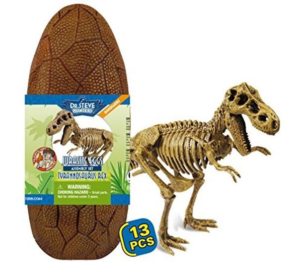 Dr Steve HUNTERS Jurassic Egg Assembly Set - T-Rex