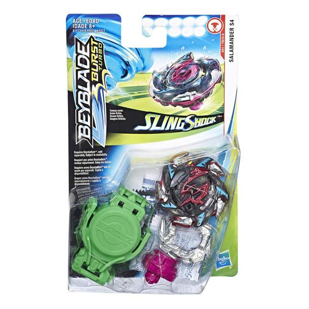 Beyblade Burst Turbo Slingshock Starter Pack - Salamander S4