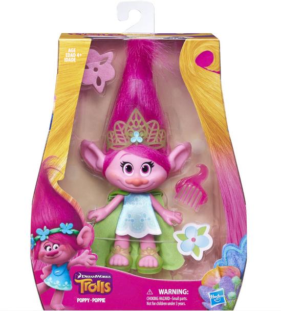 DreamWorks Trolls Medium Poppy Doll - 22cm