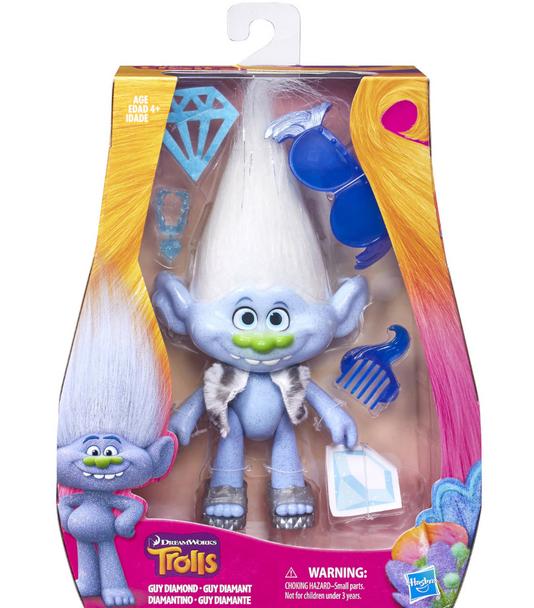 DreamWorks Trolls Medium Guy Diamond Doll - 22cm
