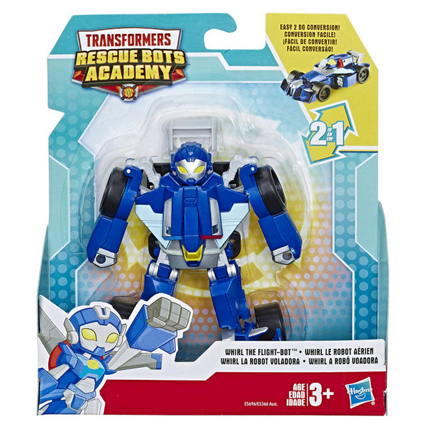 Playskool Heroes Transformers Rescue Bots Academy Toy - Whirl the Flight-Bot
