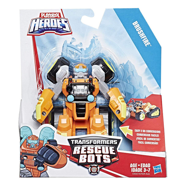 Playskool Heroes Transformers Rescue Bots Academy Toy - Brushfire
