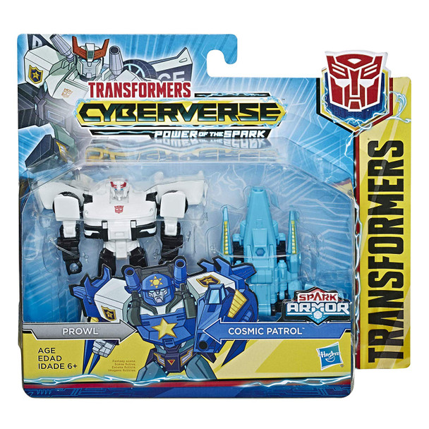 Transformers Cyberverse Spark Armour Prowl Action Figure - 12cm