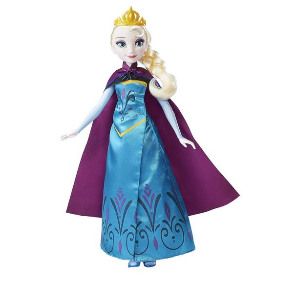Hasbro Disney Frozen Royal Reveal Elsa Doll
