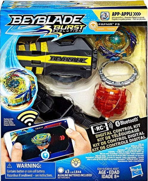 Beyblade Burst Evolution Digital Control Kit - Fafnir F3