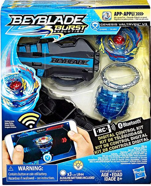 Beyblade Burst Evolution Digital Control Kit - Genesis Valtryek V3