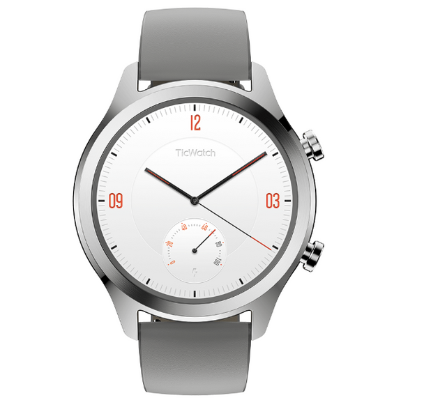 Mobvoi TicWatch C2 with Wear OS by Google - Platinum