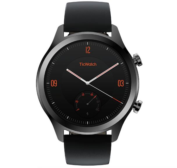 Mobvoi TicWatch Smatwatch C2 with Wear OS by Google™ - Onyx
