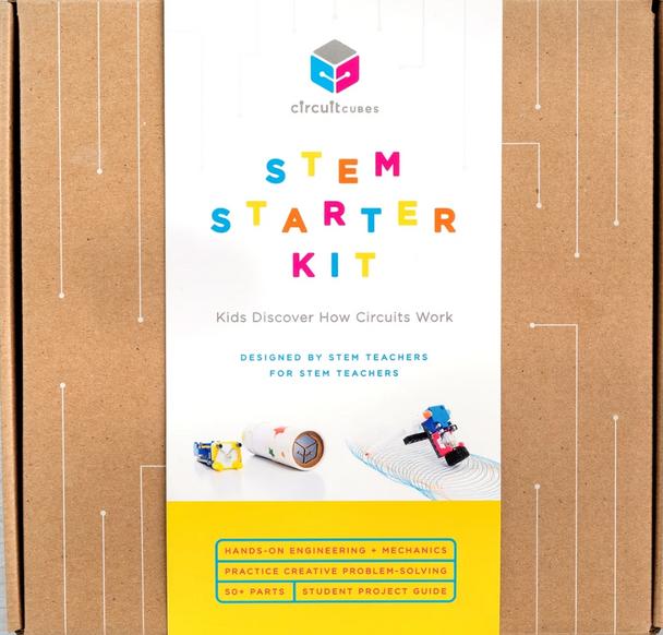 Circuit Cubes STEM Starter Kit - Educational Stem Kit Toy Creative Discovery Set