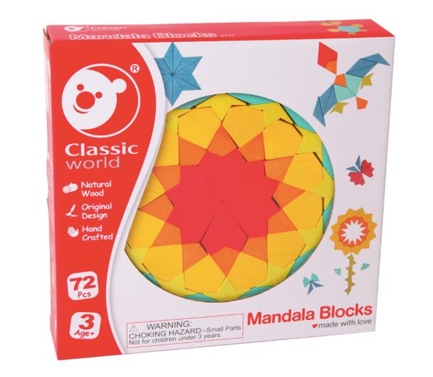 Classic World Wooden Mandala Blocks