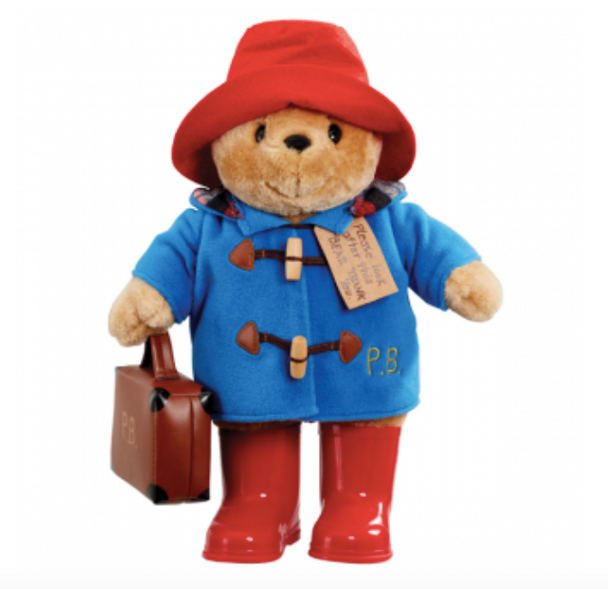 Paddington Bear in Boots with Suitcase 34cm
