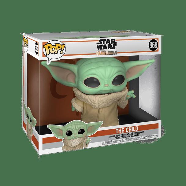 "FUNKO POP! Star Wars: Mandalorian - The Child 10"" Baby Yoda Super Sized #369"