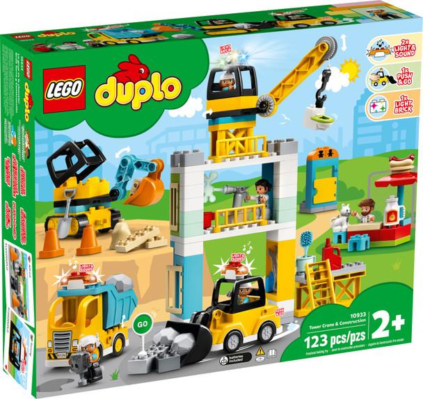 LEGO® Duplo 10933 Tower Crane & Construction