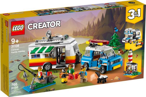 LEGO® Creator 31108 Caravan Family Holiday