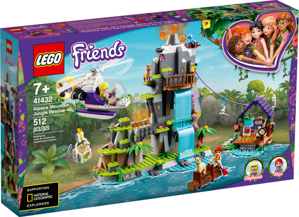 LEGO® Friends 41432 Alpaca Mountain Jungle Rescue