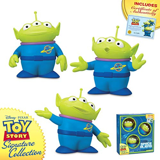 Disney Toy Story 4 - Signature Collection - Space Aliens 3 Pack Figurine