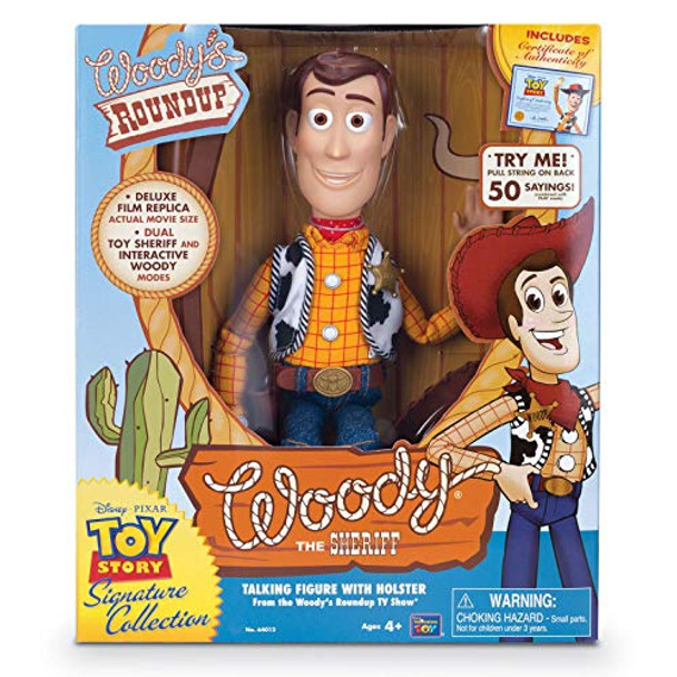 Disney Toy Story 4 - Signature Collection - Sheriff Woody 16 inch Figurine