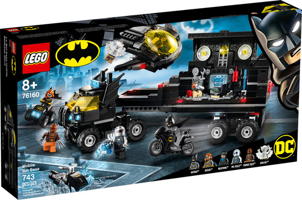 LEGO® DC 76160 Mobile Bat Base