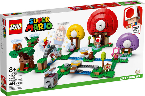 LEGO® Super Mario 71368 Toad's Treasure Hunt Expansion Set