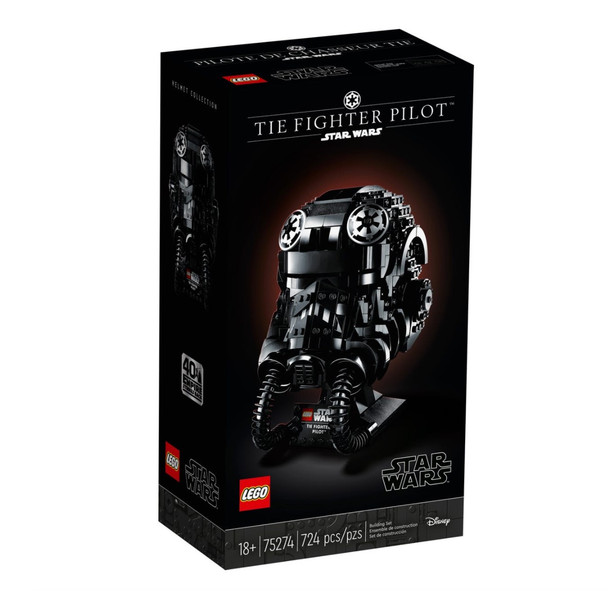 LEGO® TIE Fighter Pilot™ 75274 Helmet