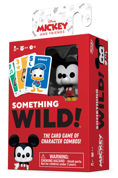 Funko Signature Games: Something Wild Card Game - Mickey & Friends