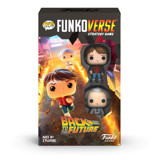 FUNKO POP! FUNKOVERSE: Back to The Future- 100 Expandalone