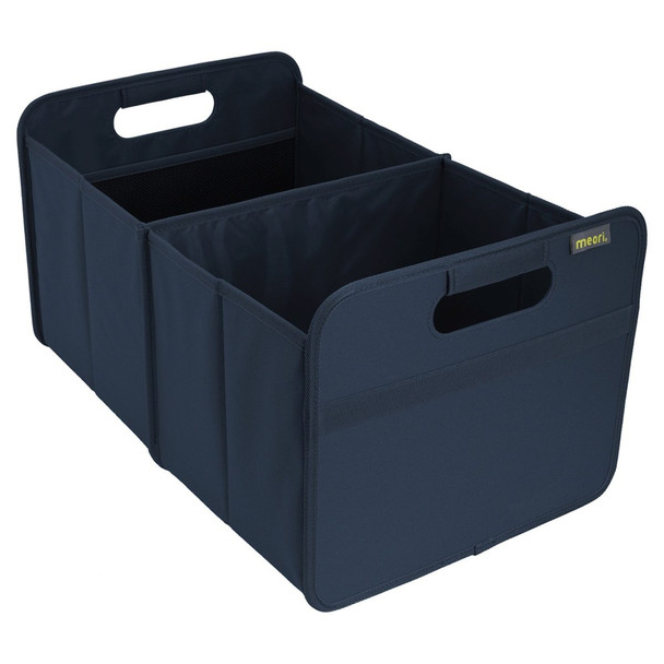 meori Classic Large Foldable Box, Marine Blue, Collapsible Organise, Store and Carry Anything and Everything