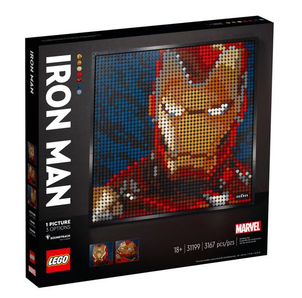 LEGO® Art 31199 Marvel Studios Iron Man