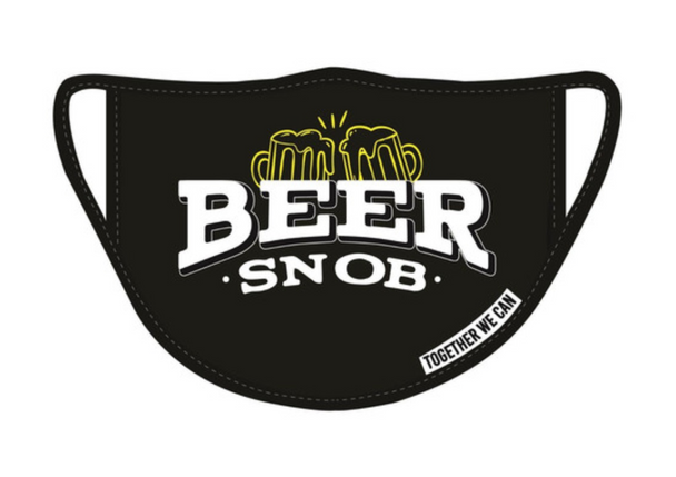 Beer Snob Triple Layer Face Mask - Pack of 2