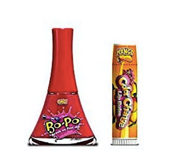 Bo-Po OMG! Nail Polish with Bonus Mango Colour Change Lip Balm