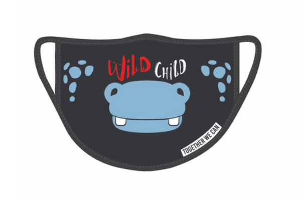 Hippo Triple Layer Face Mask - Pack of 2