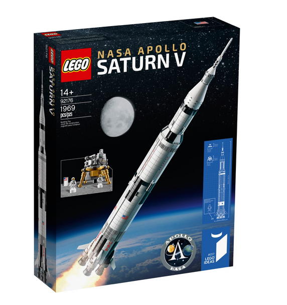 LEGO® Ideas 92176 NASA Apollo Saturn V