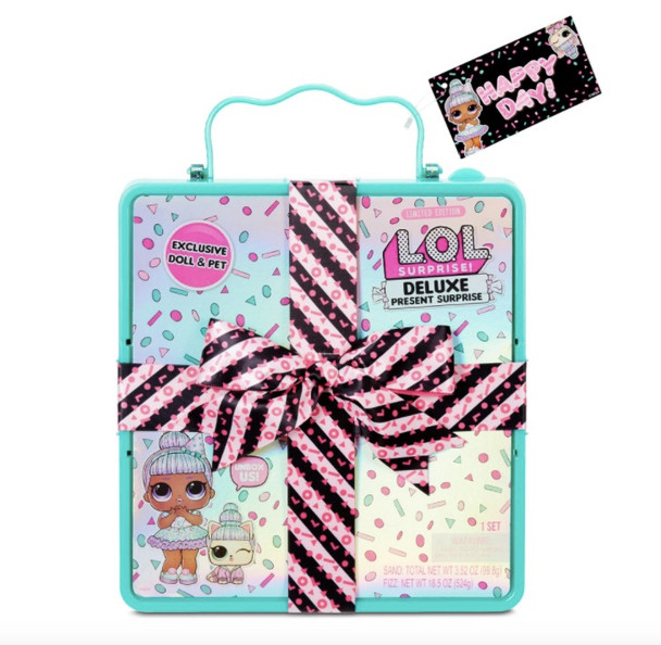 L.O.L. Surprise Deluxe Present Surprise Limited Edition Gift Box - Teal