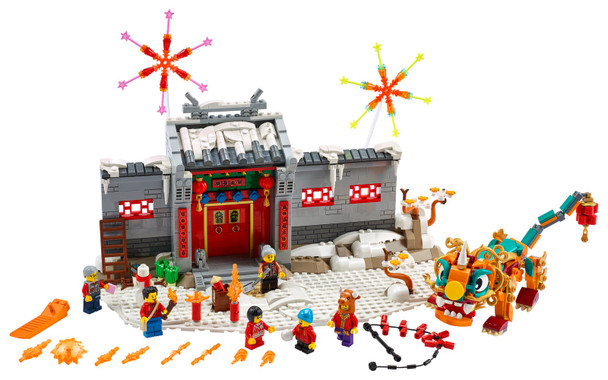 LEGO® 80106 Story of Nian