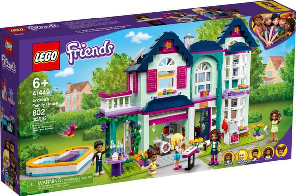LEGO® Friends 41449 Andrea's Family House