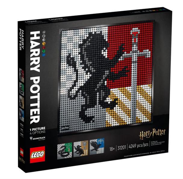 LEGO® Harry Potter Hogwart Crests 31201