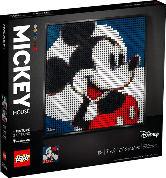 LEGO® Disney 31202 Disney's Mickey Mouse