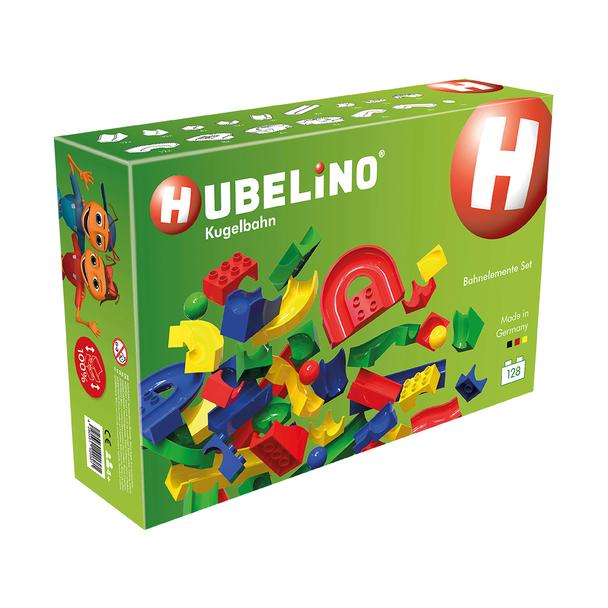 Hubelino 128-Piece Marble Run Elements Set (420381)